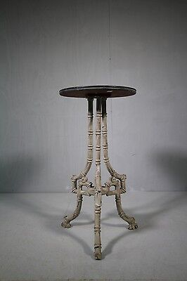 Edwardian Antique Simulated Bamboo Side Table.
