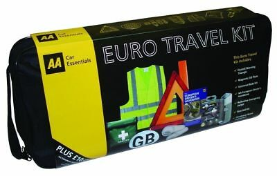 AA Euro/European Car Travel Essentials Road Safety Kit