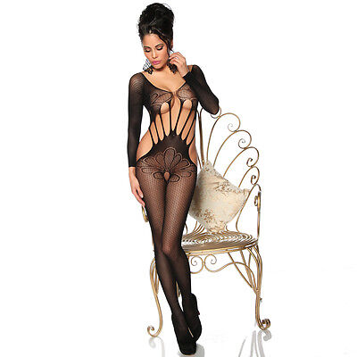 CATSUIT Bodystocking Aperta Ouvert SEXY Hot Lingerie Body Tutina 18127