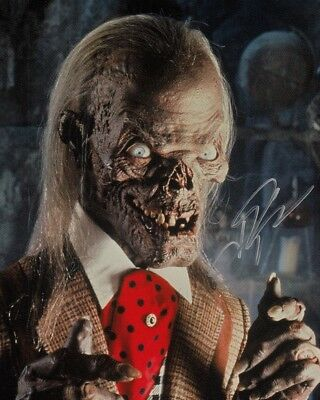 JOHN KASSIR signed Autogramm 20x25cm CRYPT KEEPER in Person autograph TALES FROM