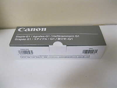 NEW CANON Finisher Staples G1 6788A001(AC) NO 1002C 3 Cartridges