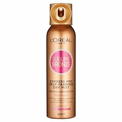 L'Oréal Sublime Bronze Pro vaporisateur 150ml Light