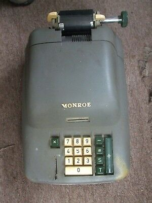 Vintage Monroe Calculating Adding Machine