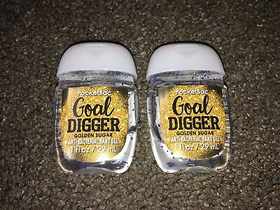 Bath & Body Works 2x Anti-Bacterial Hand Gel USA Exclusive Goal Digger