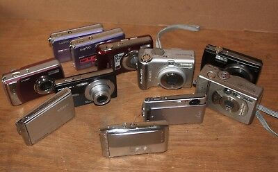 Digital Cameras Lot Photograhy Photo Sony Kodak CANON Fuji NIKON