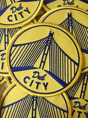 """Golden State Warriors Themed Dub City Embroidered Patch 3"""""""
