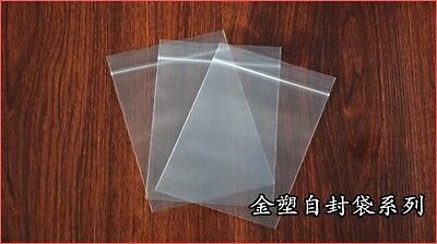 New 12 Size Clear 2Mil Plastic Seal Top ZipLock Reclosable Poly Jewelry Bags