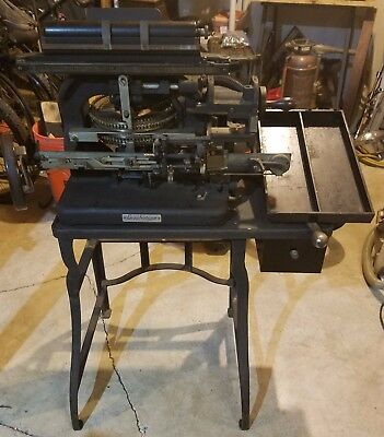 Graphotype Model 6183 by Addressograph - Featured on Black Dog Salvage