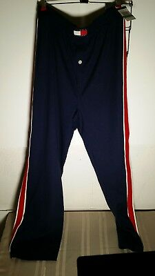 Men's Vintage Tommy Hilfiger Sleepwear blue lounge Pajama Pants Size large Retro