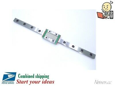 Prevent Rust MGN12H Linear Sliding Guide / Block 250 300 350mm CNC 3D Printer