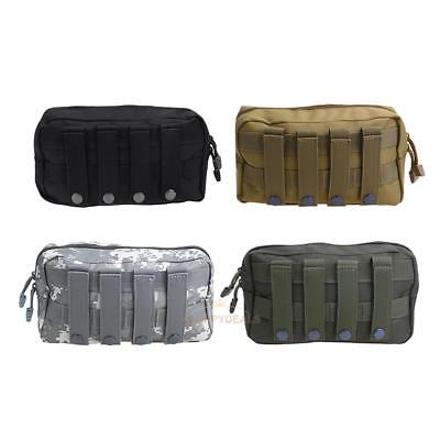 1000D Tactical Bags MOLLE Accessory EDC Utility Tools Pouch Outdoor Waterproof