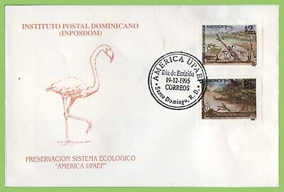 Dominican Republic 1995 America. Environmental Protection First Day Cover