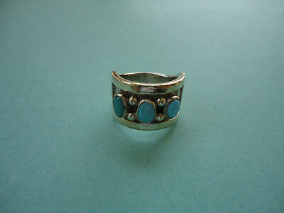 Ring By Famous Native American Artist Julian Lovato