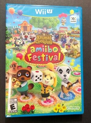 Animal Crossing Amiibo Festival [ GAME ONLY ] (Wii U) NEW