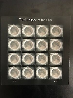 USPS TOTAL ECLIPSE OF THE SUN  Sheet of 16 Mint Never-Hinged MNH