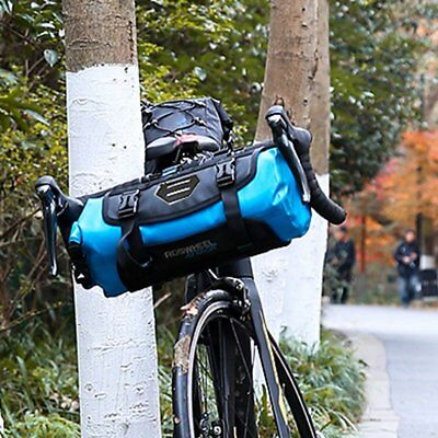 Waterproof Bicycle Front Frame Bag Pack Bike Baskets Cycling Pannier Accessory A