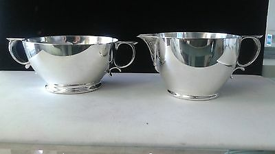 Gorham sterlin silver open Bowll and Creamer, patterns 99 and 100