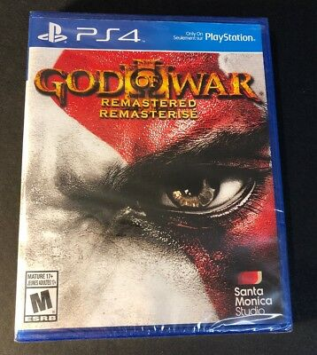 God of War 3 Remastered [ First Print ] (PS4) NEW