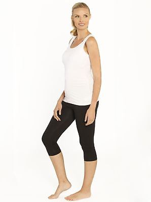 Nursing Tank & Postpartum Tummy Tight Capri Legging Set