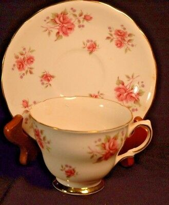 Colclough Roses Cup and Saucer