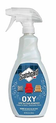Scotchgard Oxy Carpet and Fabric Spot and Stain Remover, 26 Fluid Ounce