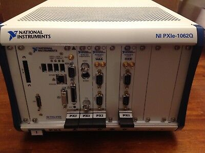 National Instruments PXIE-1062Q Chassis With PXIE-8108 Controller, CAN and Video