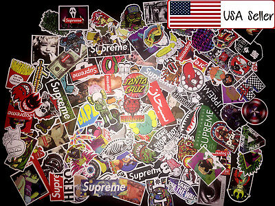 U Pick 100 Skateboard Stickers bomb Vinyl Laptop Luggage Decals Dope Sticker Lot
