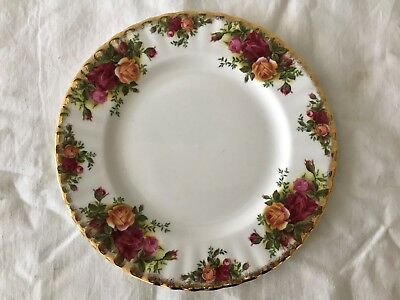 Royal Albert Old Country Roses Bone China England Plate