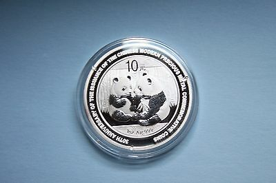 2009 30TH ANNIVERSARY SILVER PR.PANDA 1 oz..999 FINE SILVER~BUY NOW & SAVE LOOK!