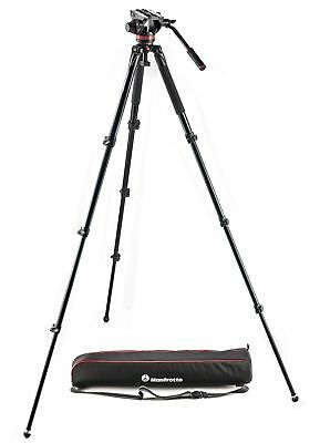 Manfrotto MVK502AQ Aluminum Single Leg Video system
