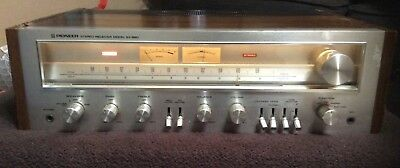 Vintage Pioneer AM/FM Tuner Stereo Receiver Model SX-650 works