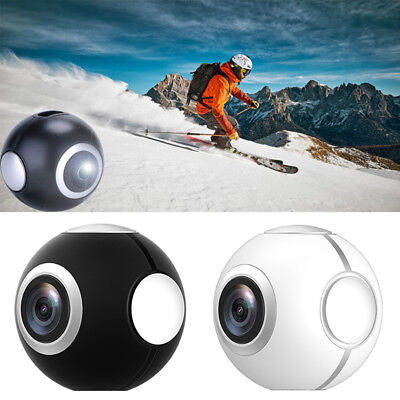 360° Panoramic Mini VR Camera Dual Lens HD Sport Cam For Andriod Mobile Phone