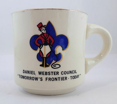 Daniel Webster Council BSA Mug Tomorrow's Frontier -Today Boy Scouts of America
