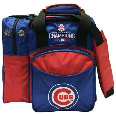 Chicago Cubs Single Bowling Bag (World Series Version) - New - Also Holds Shoes