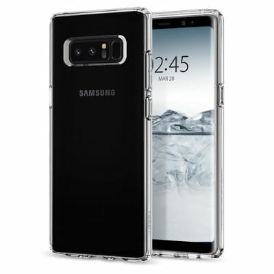 For Samsung Galaxy Note 8 S9+ Crystal Shockproof Clear PC Hard Back Case Cover