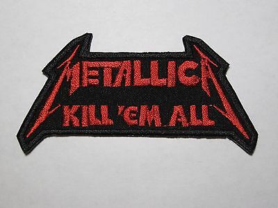 METALLICA Kill'em All embroidered NEW patch thrash metal