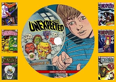 The Unexpected Comics On DVD Rom