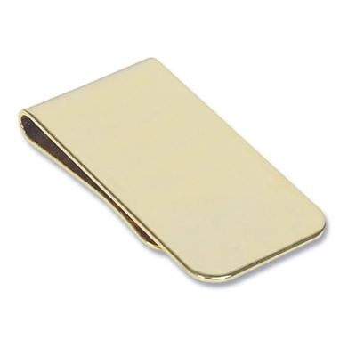 Gold Plated Money Clip - Great Gift (MC6)