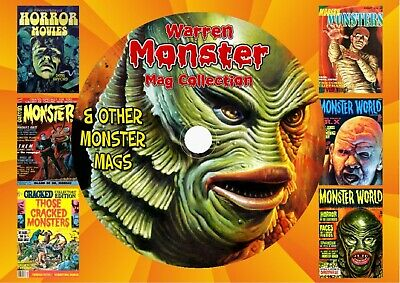 Warren Monster Mag Collection On DVD Rom