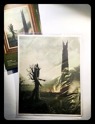 Lord Of The Rings Art Print Lootcrate Exclusive stampa originale sealed 26cm.