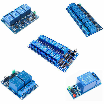 New 5V 1/2/4/8/16 Channel Relay Board Module Optocoupler LED for Arduino PIC ARM