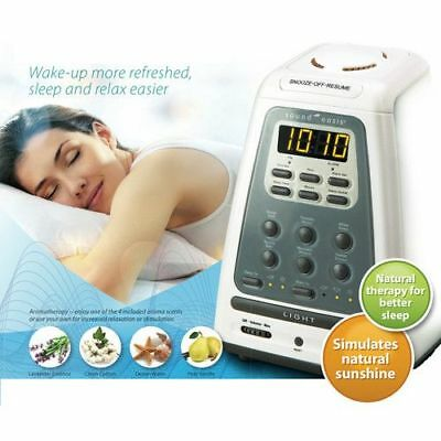Sound Oasis BLS-100SO Natural Wake-Up, Aromatherapy and Sleep System