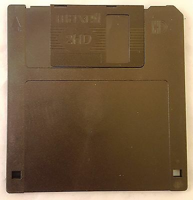 """NEW Maxell MF2HD 1.44MB FD Floppy Disk Pre-Formatted 3.5"""" PC High Density 3 ½"""""""