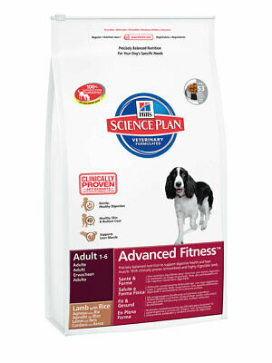 Hill's Science Plan Canine Adult Advanced Fitness Lamm & Reis Sparset  2 x 12 kg