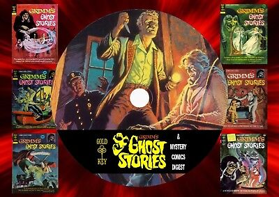 Grimm Ghost Stories + Mystery Digest Comics On DVD Rom