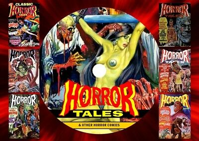 Horror Tales Comics & More On DVD Rom
