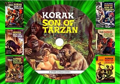 Korak - Lorna - Toka - Jungle Jim & Other Jungle Comics On DVD Rom