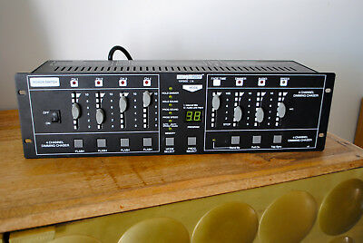 Régie lumière 4 CHANNEL DIMMING CHASER HQ POWER VDPDMXC 136 NEUF New