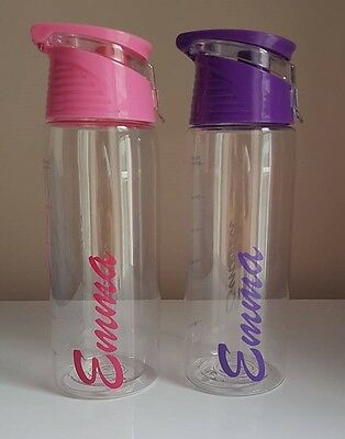 Personalised Love Island Style Water Bottle
