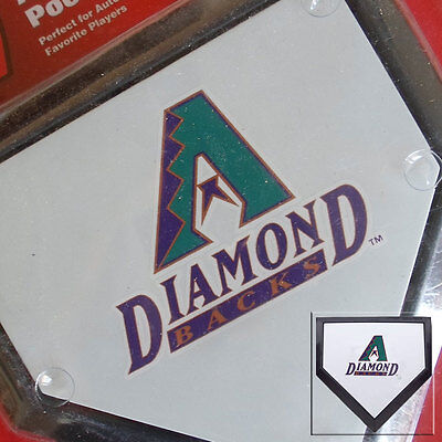 2 x Arizona Diamondbacks MLB Authentic Pocket Mini Home Plate Coasters